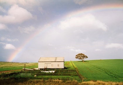 (CreativeWork) Mallee Rainbow by Alex Frayne. photograph. Shop online at Bluethumb.