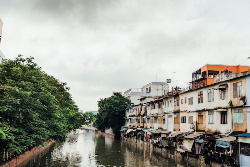 (CreativeWork) By the river in Bangkok by Megan George. photograph. Shop online at Bluethumb.