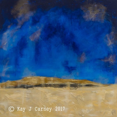 (CreativeWork) Storm by Kay Carney. Acrylic Paint. Shop online at Bluethumb.
