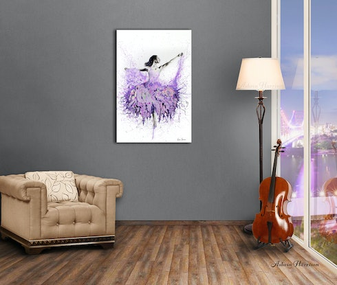 (CreativeWork) French Garden Ballet by Ashvin Harrison. #<Filter:0x00007fc1f92a6c38>. Shop online at Bluethumb.