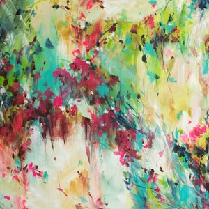 (CreativeWork) Outback Delight by Amber Gittins. arcylic-painting. Shop online at Bluethumb.