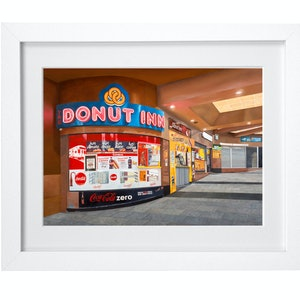 (CreativeWork) 'Last Donut Of The Night' Ed. 2 of 100 by Donovan Christie. Print. Shop online at Bluethumb.