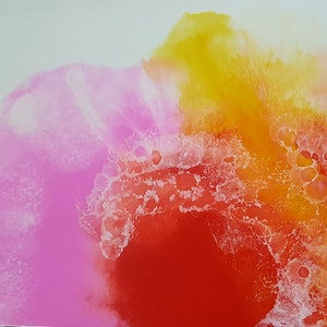 (CreativeWork) Qualm by Felicity Moore. resin. Shop online at Bluethumb.