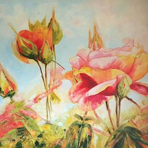 "(CreativeWork) "" Summer Beauty ""  Ed. 1 of 100 by Junita Grosvenor. print. Shop online at Bluethumb."