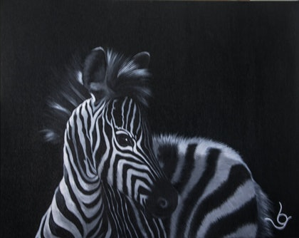 """(CreativeWork) """"STRIPES"""" by Lynne Gehrke. arcylic-painting. Shop online at Bluethumb."""