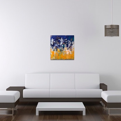 (CreativeWork) Jamaica by And Then She Painted. Acrylic Paint. Shop online at Bluethumb.