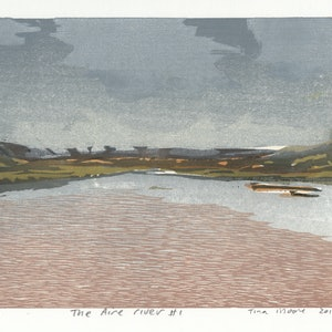(CreativeWork) The Aire river #1 Ed. 1 of 1 by Tina Moore. print. Shop online at Bluethumb.