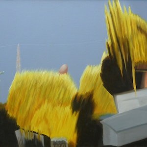 (CreativeWork) Before & After Thunder III by Tom Koch. oil-painting. Shop online at Bluethumb.