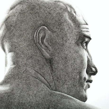 (CreativeWork) Kelly Slater by Dean Spinks. Drawings. Shop online at Bluethumb.