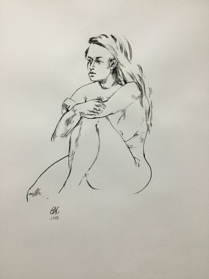 (CreativeWork) In the moment (LD160081) by Geoff Coleman. Drawings. Shop online at Bluethumb.