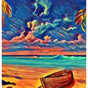 (CreativeWork) Beached Ed. 1 of 25 by Isabelle Caille. print. Shop online at Bluethumb.