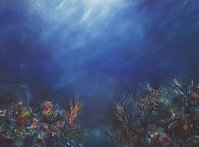 (CreativeWork) Silent Worlds by Fae Ballingall. oil-painting. Shop online at Bluethumb.