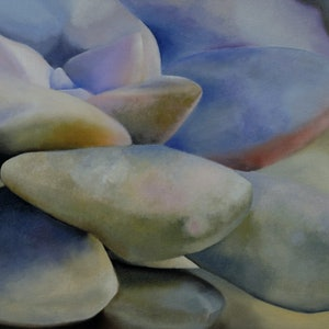 (CreativeWork) Climb Every Mountain by adele dubarry. oil-painting. Shop online at Bluethumb.