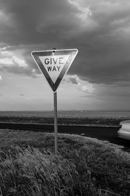 (CreativeWork) Give Way by Dale Harper. photograph. Shop online at Bluethumb.