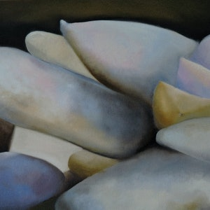 (CreativeWork) Climb Every Mountain II by adele dubarry. oil-painting. Shop online at Bluethumb.