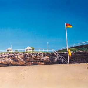(CreativeWork) Bronte 1 by francois olivier. arcylic-painting. Shop online at Bluethumb.