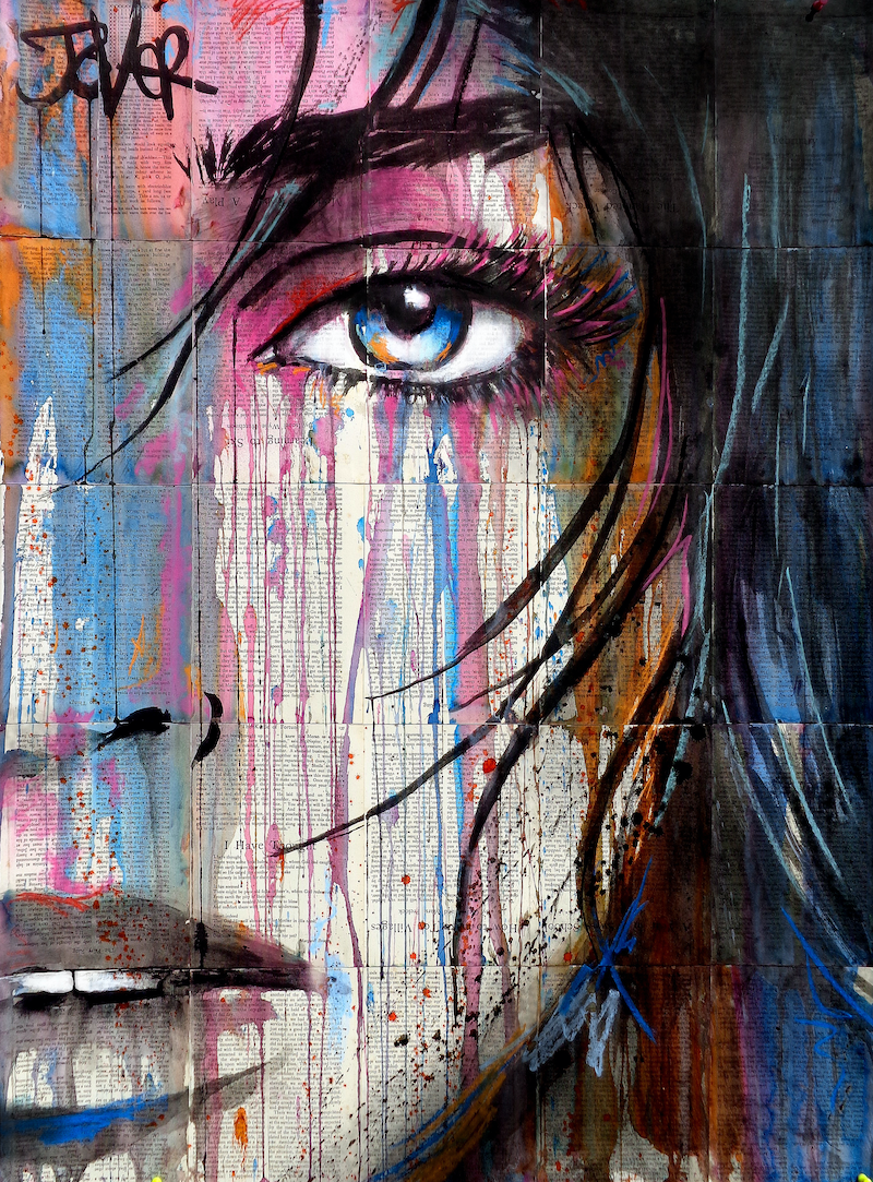 (CreativeWork) VILLAGE by loui jover. Drawings. Shop online at Bluethumb.