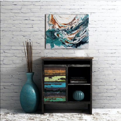 (CreativeWork) Coral Seas by Brigitte Ackland. #<Filter:0x00007fef07dff2c0>. Shop online at Bluethumb.