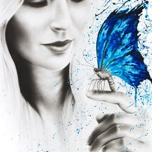 (CreativeWork) Taken With You by Ashvin Harrison. arcylic-painting. Shop online at Bluethumb.