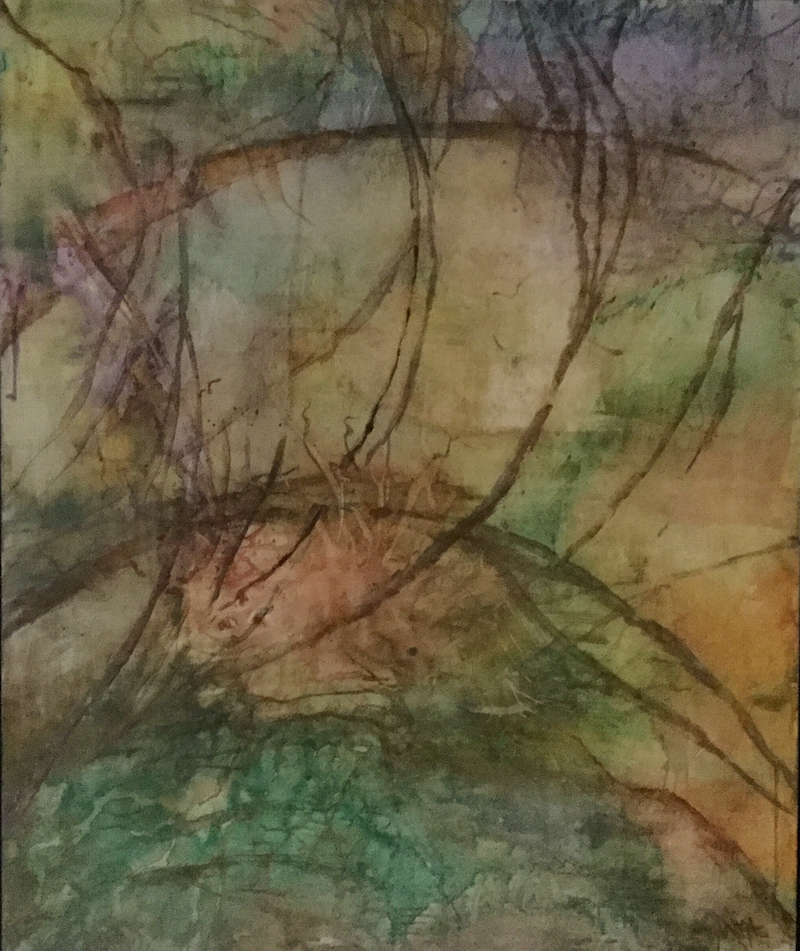 (CreativeWork) Forest Green by Jayne Wise. other-media. Shop online at Bluethumb.