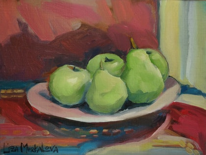 Pears, morning