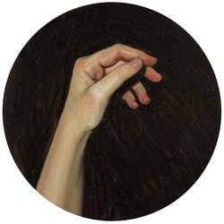 (CreativeWork) Hand Study #3 by Kendal Gear. oil-painting. Shop online at Bluethumb.