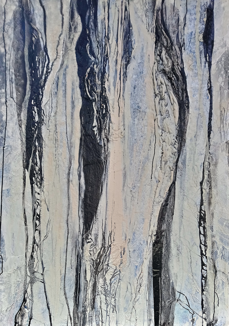 (CreativeWork) Desert Gum by William Holt. arcylic-painting. Shop online at Bluethumb.