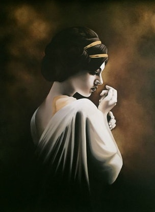 (CreativeWork) Grace  by Gerlinde Thomas. Oil Paint. Shop online at Bluethumb.