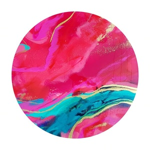 (CreativeWork) Floss by Jessica Taylor. resin. Shop online at Bluethumb.