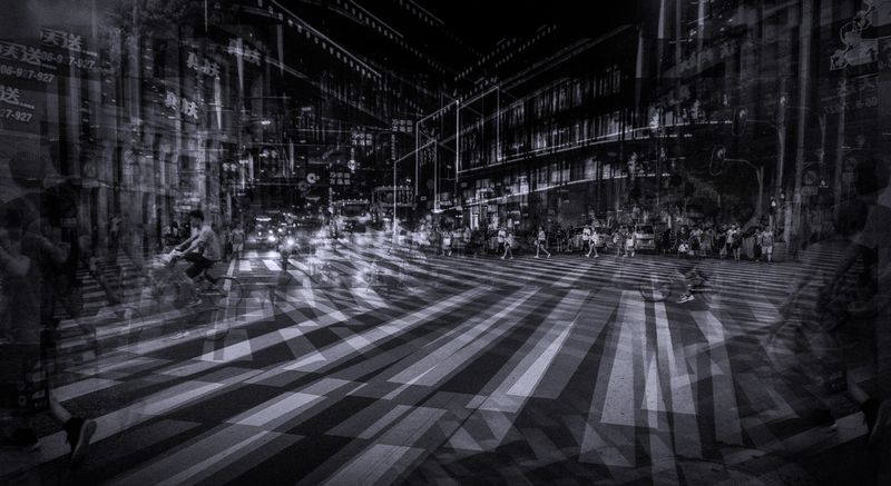 (CreativeWork) Night Crossing by Joseph Remi d'Argent. photograph. Shop online at Bluethumb.