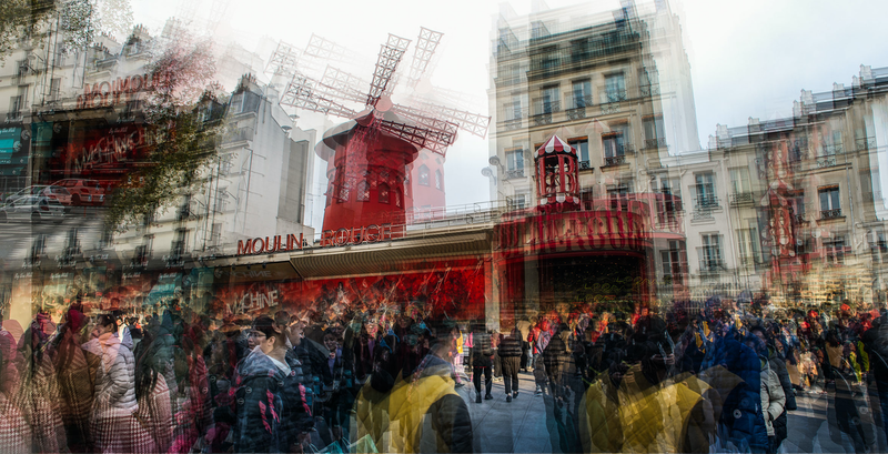 (CreativeWork) Going to the Moulin by Joseph Remi d'Argent. photograph. Shop online at Bluethumb.