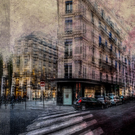 (CreativeWork) At the corner block Ed. 2 of 30 by Joseph Remi d'Argent. Photograph. Shop online at Bluethumb.