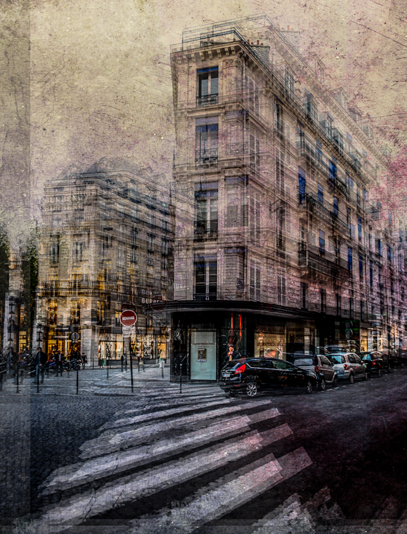 (CreativeWork) At the corner block by Joseph Remi d'Argent. photograph. Shop online at Bluethumb.