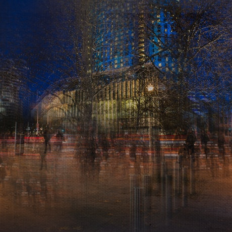 (CreativeWork) City Lights Ed. 2 of 30 by Joseph Remi d'Argent. Photograph. Shop online at Bluethumb.