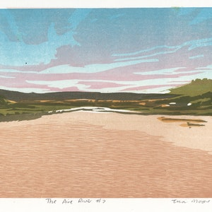(CreativeWork) The Aire River #2 Ed. 1 of 1 by Tina Moore. print. Shop online at Bluethumb.