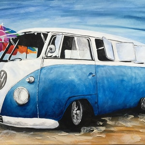 (CreativeWork) Aussie 2 by Jess King. arcylic-painting. Shop online at Bluethumb.