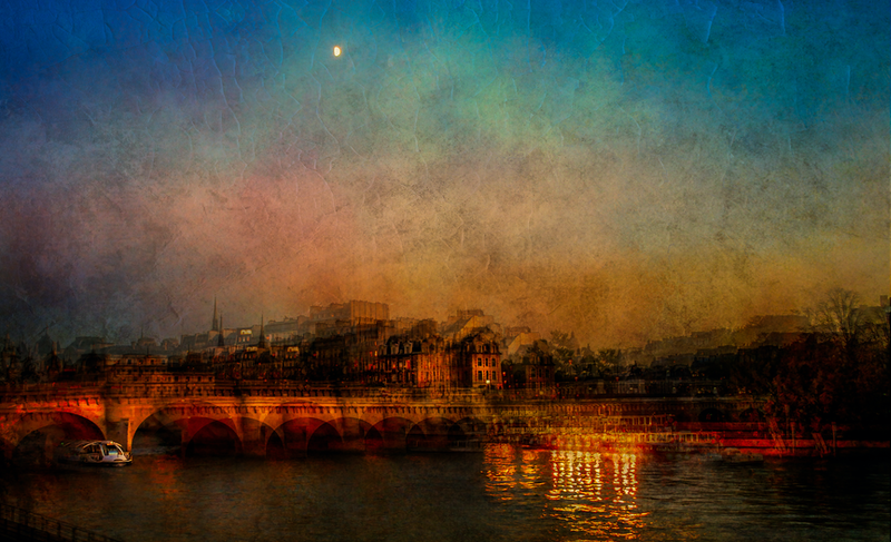 (CreativeWork) Pont Neuf by Joseph Remi d'Argent. photograph. Shop online at Bluethumb.