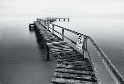 (CreativeWork) No Diving by Simon Ng. photograph. Shop online at Bluethumb.