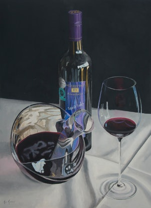 (CreativeWork) Squid Ink Shiraz by Rob Kennedy. #<Filter:0x000055be253d5430>. Shop online at Bluethumb.