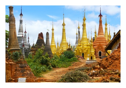 (CreativeWork) TEMPLES - INDIEN, MYANMAR by Tony Knight. photograph. Shop online at Bluethumb.