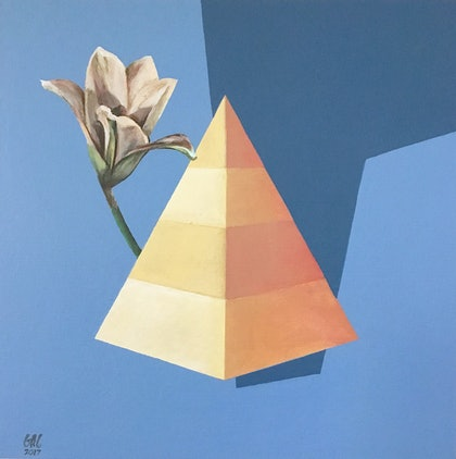 (CreativeWork) Pointed by Geoff Coleman. arcylic-painting. Shop online at Bluethumb.