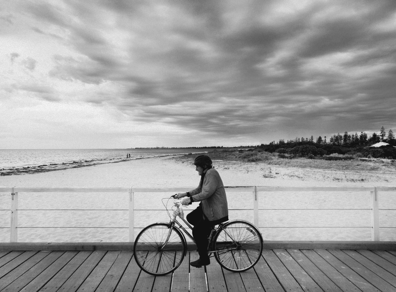 (CreativeWork) Semaphore Bike by Alex Frayne. photograph. Shop online at Bluethumb.