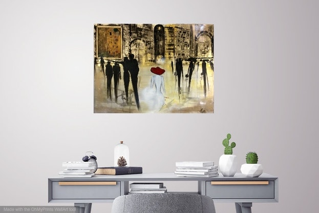 (CreativeWork) All The World's A Stage (William Shakespeare) by Louise Croese. #<Filter:0x00007f5170463098>. Shop online at Bluethumb.