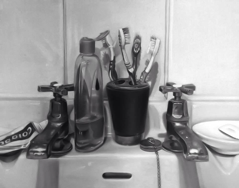 (CreativeWork) The shit on my bathroom sink by Eleanor Darling. Drawings. Shop online at Bluethumb.