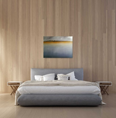 (CreativeWork) We Share Some History - Bruny by Rose Knight. Oil Paint. Shop online at Bluethumb.