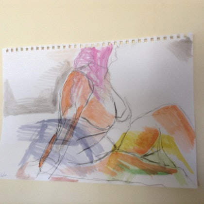 (CreativeWork) Drawing 7 by Mitch Ianni. drawing. Shop online at Bluethumb.