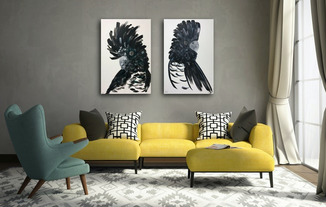 (CreativeWork) Confidence  by REK .. Acrylic. Shop online at Bluethumb.
