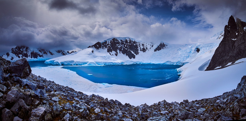 (CreativeWork) Orne Harbour Antarctica by Peter Collie. photograph. Shop online at Bluethumb.