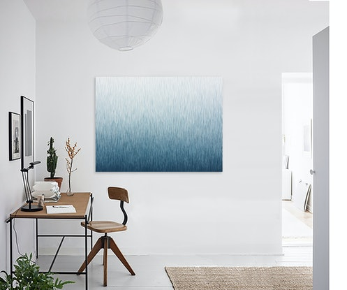 (CreativeWork) 'The Eighth Silence' 120 x 90cm Acrylic Painting on Canvas   by George Hall. Acrylic. Shop online at Bluethumb.