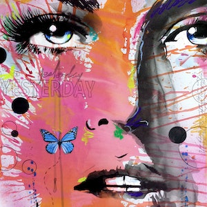 (CreativeWork) YESTERDAY by loui jover. mixed-media. Shop online at Bluethumb.
